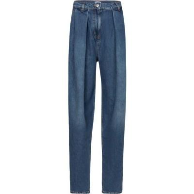 マグダ ブトリム Magda Butrym レディース ジーンズ・デニム ボトムス・パンツ high-rise carrot jeans Blue