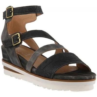 スプリングステップ L'Artiste by Spring Step レディース サンダル・ミュール シューズ・靴 Nolana Strappy Sandal Black Multi Leather