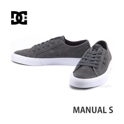 ディーシー マニュアル S DC MANUAL S スニーカー メンズ シューズ スケボー スケートボード スケシュー 靴 SKATEBOARD カラー:GREY