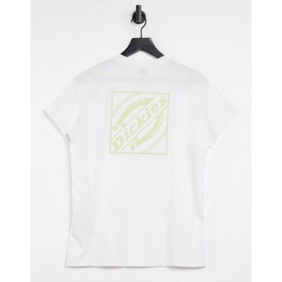 ディッキーズ Dickies レディース Tシャツ トップス Fnb Box Back Print T-Shirt In White ホワイト