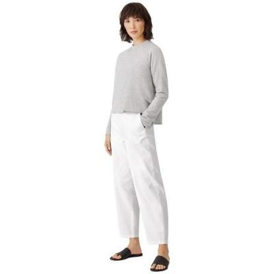 エイリーンフィッシャー レディース カジュアルパンツ ボトムス Organic Cotton Hemp Stretch Ankle Lantern Pants