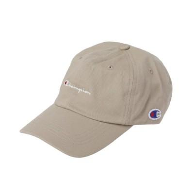 チャンピオン キャップ ツイルキャップ (181-019A) 帽子 : ベージュ Champion