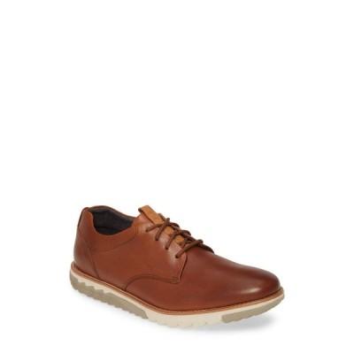ハッシュパピー HUSH PUPPIES メンズ 革靴・ビジネスシューズ ダービーシューズ シューズ・靴 Hush Puppies Expert Plain Toe Derby Cognac Leather