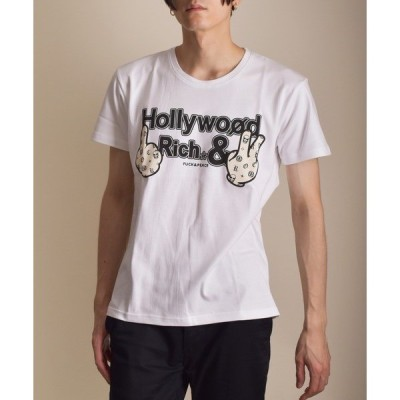 tシャツ Tシャツ VIBGYOR Select/モノグラムハンドセレブプリントSST(FL)