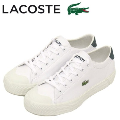 LACOSTE (ラコステ) CF00020 GRIPSHOT 0120 1 レディーススニーカー 1R5 WHT/DK GRN LC215