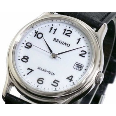 腕時計 メンズ シチズン CITIZEN レグノ REGUNO ソーラー RS25-0033B WP