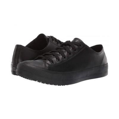 Shoes for Crews レディース 女性用 シューズ 靴 スニーカー 運動靴 Delray - Black Leather