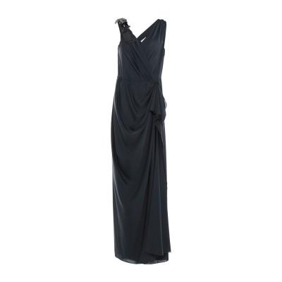 パロッシュ P.A.R.O.S.H. ロングワンピース&ドレス ブラック L ポリエステル 100% ロングワンピース&ドレス