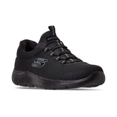スケッチャーズ メンズ スニーカー シューズ Men's Summits Slip-On Athletic Training Sneakers from Finish Line