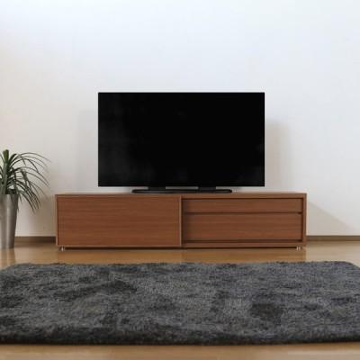 LSL 180テレビ台 テレビボード  ブラックチェリー 幅180×奥行45×高さ40cm 国産 日本製 硬質シート