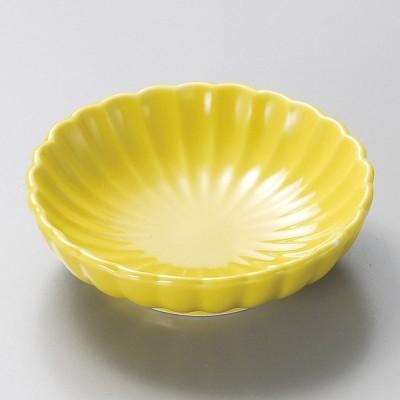小鉢 菊小鉢 黄 おしゃれ 業務用 和食器 美濃焼 9d15935-238