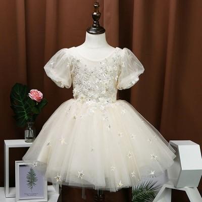 子供ドレス キッズ服 誕生日ギフト 結婚式  七五三 子供服装 フォーマル ロリータドレス バレエ服  女の子チュール ワンピース ベビードレス