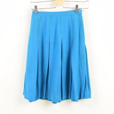 60's ウール ハーフ丈 プリーツスカート USA製 lady'sS /wan8241