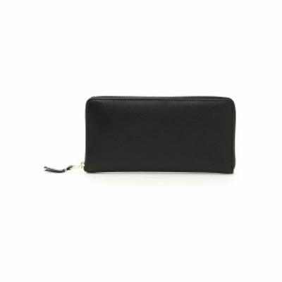 COMME DES GARCONS/コム デ ギャルソン Black Comme des garcons wallet zip around wallet メンズ 春夏2021 SA0110 ik