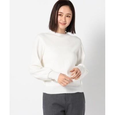 MEW'S REFINED CLOTHES / もちもちハイネックラメニットプルオーバー WOMEN トップス > ニット/セーター