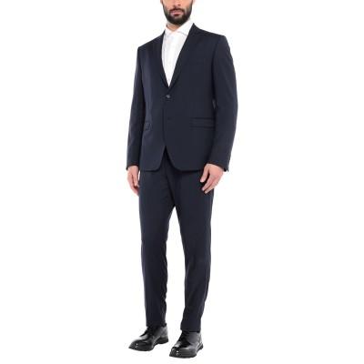 LAB. PAL ZILERI スーツ ダークブルー 58 ウール 100% スーツ
