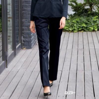 OA6003 ナガイレーベン 女性用 パンツ ストレート (制服 ストレートパンツ オフィスパンツ スーツ グレー ネイビー ナガイレーベン パン
