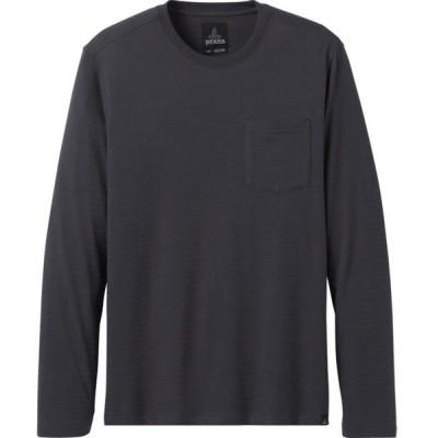 プラーナ シャツ メンズ トップス Rex Crew Sweatshirt - Men's Charcoal