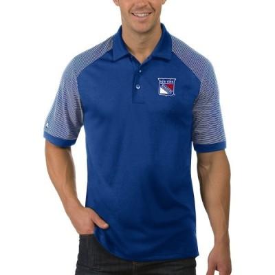 アンティグア メンズ ポロシャツ トップス New York Rangers Antigua Engage Big & Tall Polo