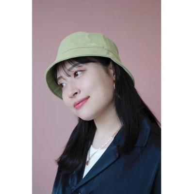 ZOZOMARKET / 【丸山礼】シンプルにロゴ入りバケットハット WOMEN 帽子 > ハット
