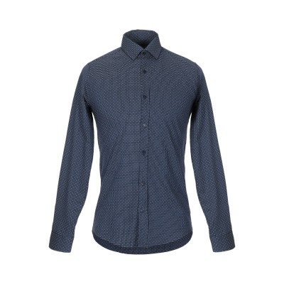 SOUL CAGE シャツ ブルー S コットン 97% / ポリウレタン 3% シャツ