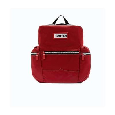 ハンター ユニセックス バックパック・リュック バッグ Original Mini Topclip Nylon Backpack Military Red