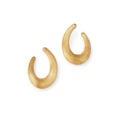 マルコ ビチェゴ レディース ピアス・イヤリング アクセサリー 18K Yellow Gold Lucia Medium Hoop Earrings