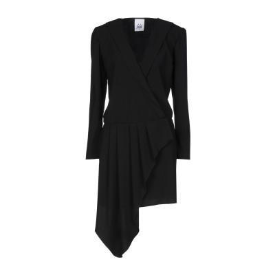 ジジル JIJIL ミニワンピース&ドレス ブラック 42 ポリエステル 89% / ポリウレタン 11% ミニワンピース&ドレス