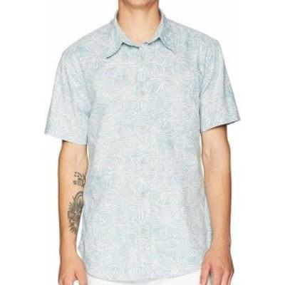 Reyn Spooner レインスプーナー ファッション アウター Reyn Spooner Mens Shirt Blue Size Large L Floral Print Button Down