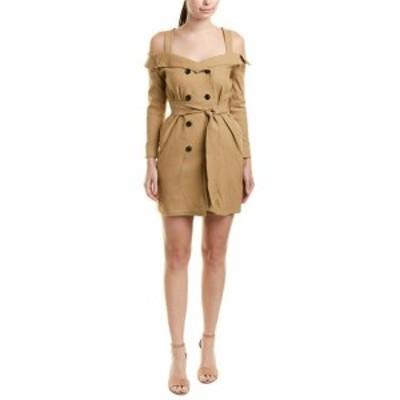 ファッション ドレス Lucca Couture Trench Mini Dress