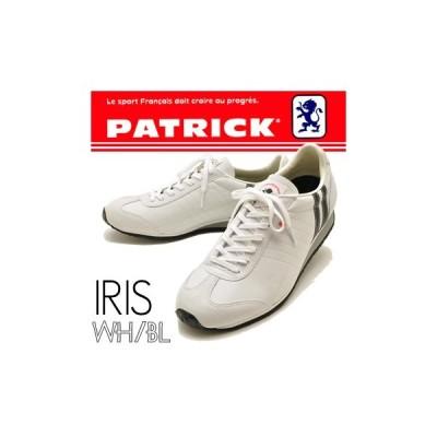 PATRICK パトリック スニーカー メンズ  IRIS アイリス ホワイトブラック ※(予約)はメーカー在庫4営業日内に発送