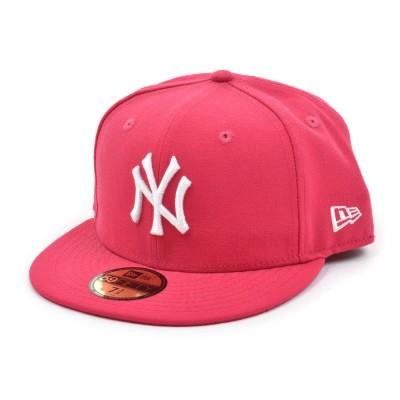 NEW ERA帽子59FIFTY MLB ニューヨーク・ヤンキース ブローズ×ホワイト 11308561フラッシュグリーン
