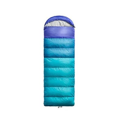 AIHOUSE Sleeping Bag, Ultralight Spliced Double Persons Camping Sleeping Bag Portable Suitable for Outdoor Travel Hiking,Blue,U250