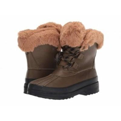 Sperry スペリー レディース 女性用 シューズ 靴 ブーツ スノーブーツ Maritime Winter Boot Leather Olive【送料無料】