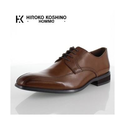 ヒロコ コシノ オム HIROKO KOSHINO HOMME HK127 ブラウン メンズ 靴 ビジネスシューズ スワールモカ 外羽式 本革 3E