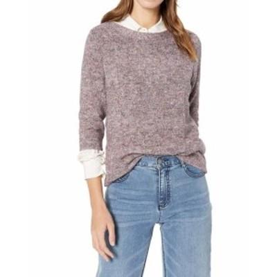 Nicole ニコール ファッション トップス Leo & Nicole NEW Purple Womens PXL Petite Pullover Knitted Sweater
