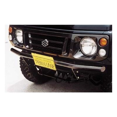ペニーレイン RS フロントストレートバンパー II(ブラック)ジムニー JA12 JA22  PENNY LANE