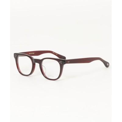 NEUVE A / EYEVAN アイヴァン Womack ウーマック DBE(DARK BORDEAUX) 眼鏡フレーム MEN ファッション雑貨 > メガネ