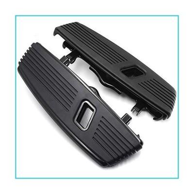 HTTMT- MT216-128- Black Hana Cut Front Floorboard Footboard Compatible With 1986-2017 Softail 08-19 Trike Tri Glide【並行輸入品】