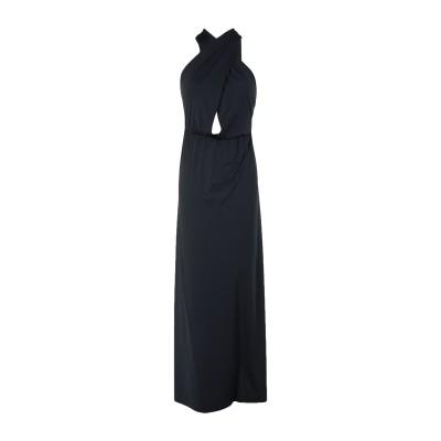 4GIVENESS 7分丈ワンピース・ドレス ブラック M ナイロン 90% / ポリウレタン 10% 7分丈ワンピース・ドレス