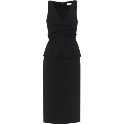 ジバンシー Givenchy レディース パーティードレス ミドル丈 ワンピース・ドレス wool midi dress Black