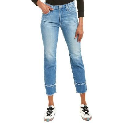 エージージーンズ デニムパンツ ボトムス レディース AG Jeans Isabelle 13 Years Awesome High-Rise Straight Crop 13 years awesome