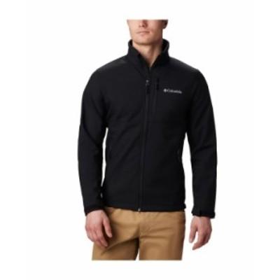 コロンビア メンズ ジャケット・ブルゾン アウター Men's Ascender Water-Resistant Softshell Jacket Black