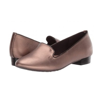 Soft Style ソフトスタイル レディース 女性用 シューズ 靴 ローファー ボートシューズ Charmy - Bronze
