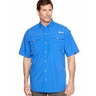 コロンビア メンズ シャツ トップス Big & Tall PFG Bahama II Short Sleeve Shirt Vivid Blue