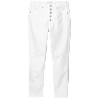 ラッキーブランド レディース デニムパンツ ボトムス High-Rise Bridgette Skinny Jeans in Clean White