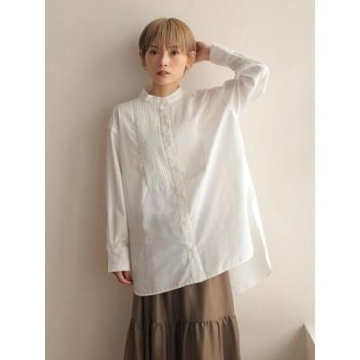 シャツ ブラウス 【Jilky×rem】タキシードシャツ