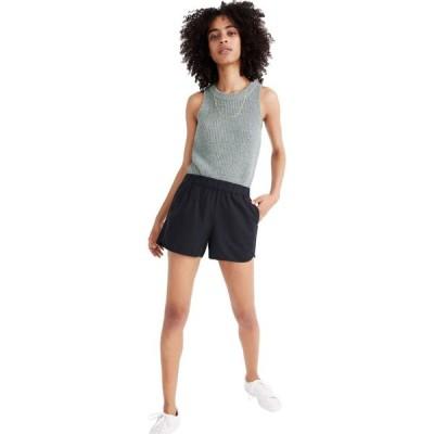 メイドウェル Madewell レディース ショートパンツ ボトムス・パンツ Pull-On Shorts Almost Black