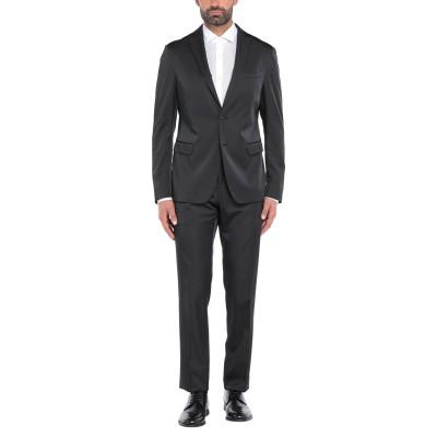 LAB. PAL ZILERI スーツ ブラック 50 ポリエステル 55% / レーヨン 42% / ポリウレタン 3% スーツ