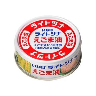 【6個入り】いなば ライトツナ えごま油 70g